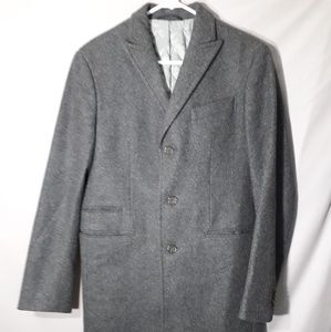 Banana republic mens small wool cashmere coat